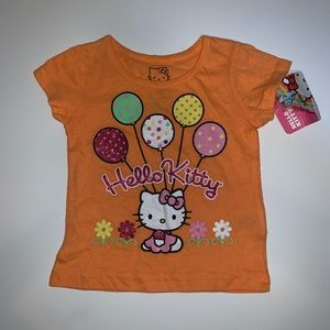 Hello kitty birthday celebration balloon shirt